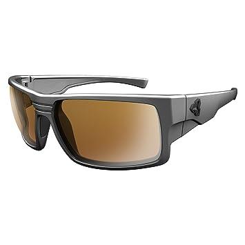Ryders Eyewear Thorn marco de plata polarizado Marrón lente Gafas de sol