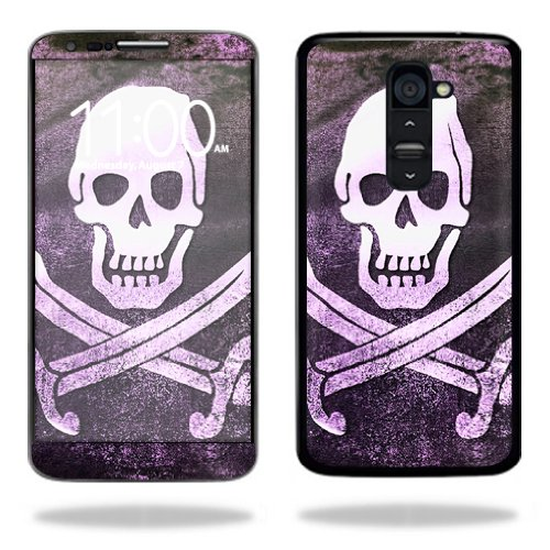 Mightyskins Protective Vinyl Skin Decal Cover for LG G2 T-Mobile wrap sticker skins Pirate