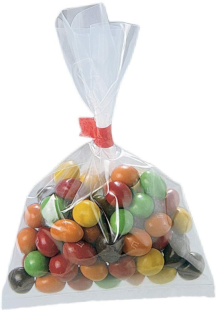8x10 Crystal Clear Open Top Poly Plastic Bag Premium Flat Polypropylene Bags 8 X 10-1.2 mil High Clarity Polypropylene 400 per Case
