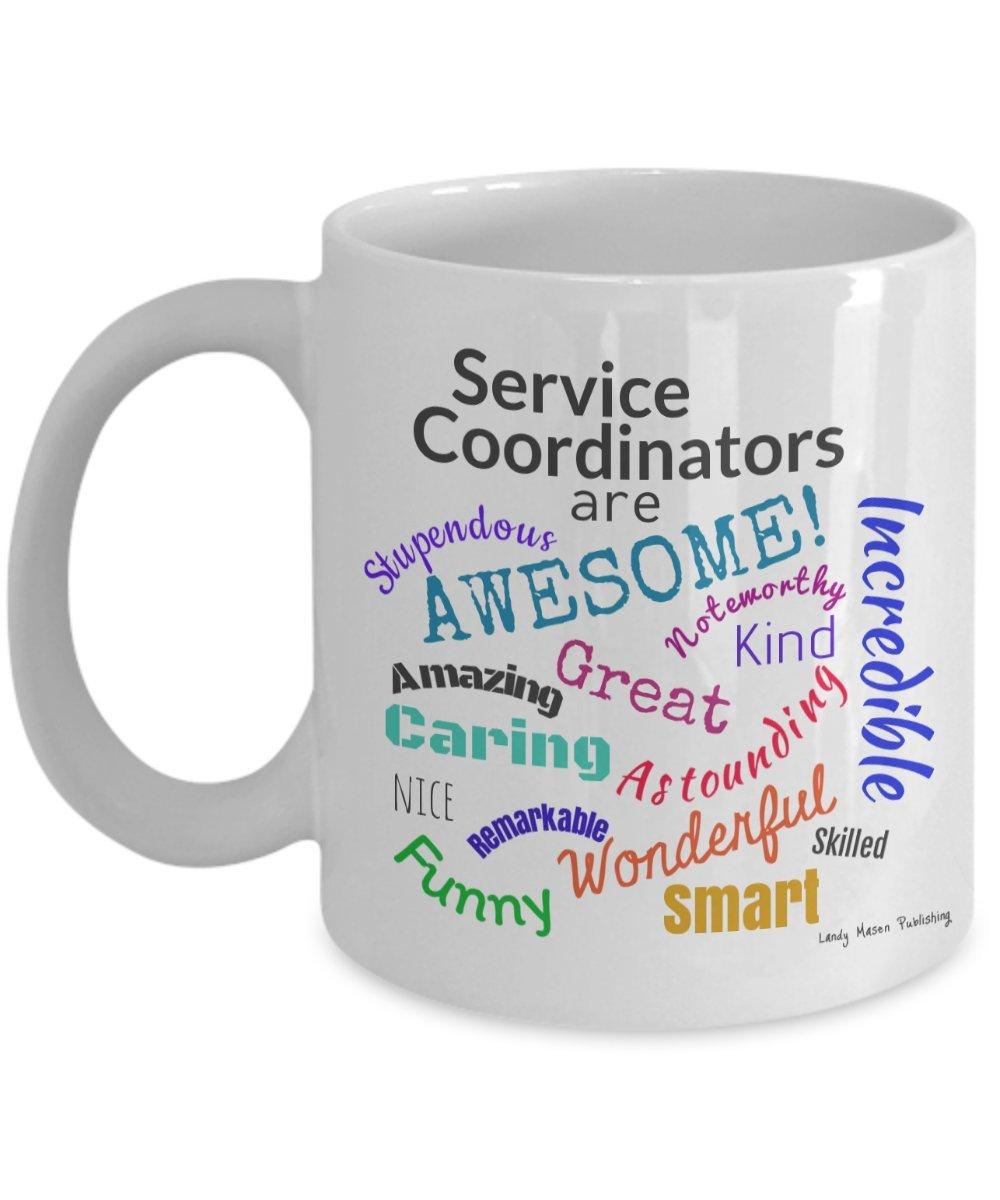 サービスコーディネータare awesomeセラミックコーヒーマグ B06XKY5DX9