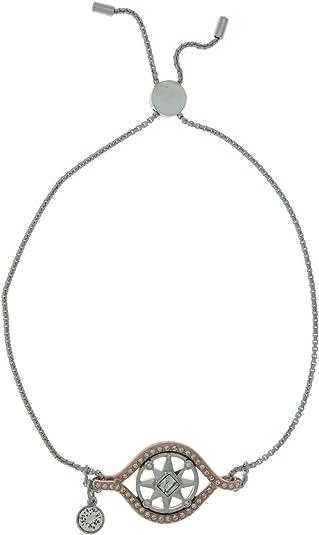 Amazon.com: Swarovski Humanist Compass Bracelet, White, Mixed ...