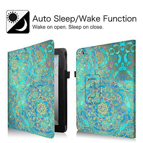 Fintie iPad 4/3/2 Case - Slim Fit Folio Stand Case Smart Protective Cover  Auto Sleep/Wake Feature for Apple iPad 2, iPad 3 & iPad 4th Generation with