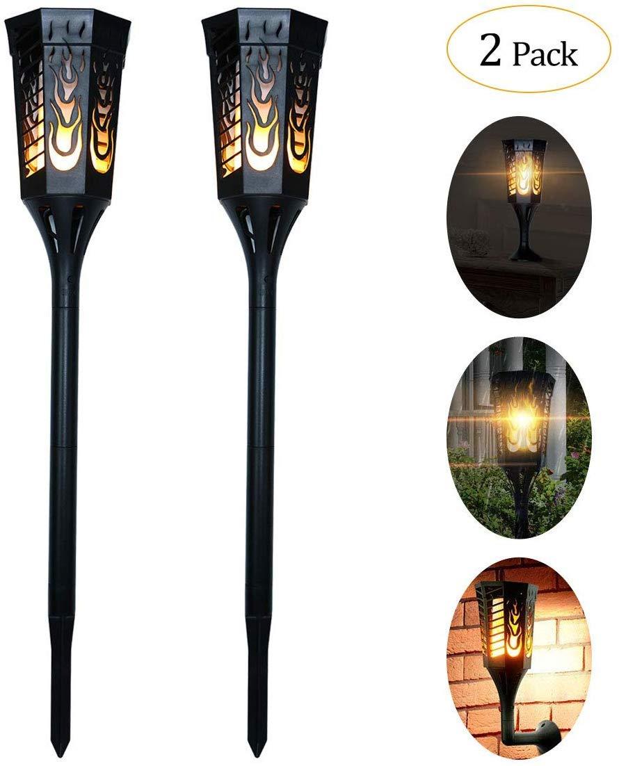 IDEAPRO Solar Power Torch Lights