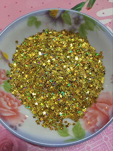 BarFeer 30G/Lot 3Mm Star Sequins Nail Art Flat Loose Sequins Paillettes Wedding Craft Kids Diy Accessories Gold Laser Hologram