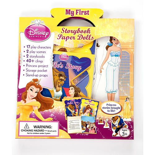 Disney Princess Paper Dolls - Disney Princess My First Storybook Paper Dolls: Beauty and the Beast