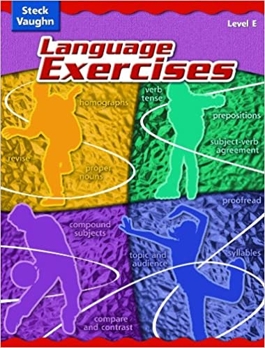 Steck-Vaughn Language Exercises: Student Edition Grade 5 Level E ...