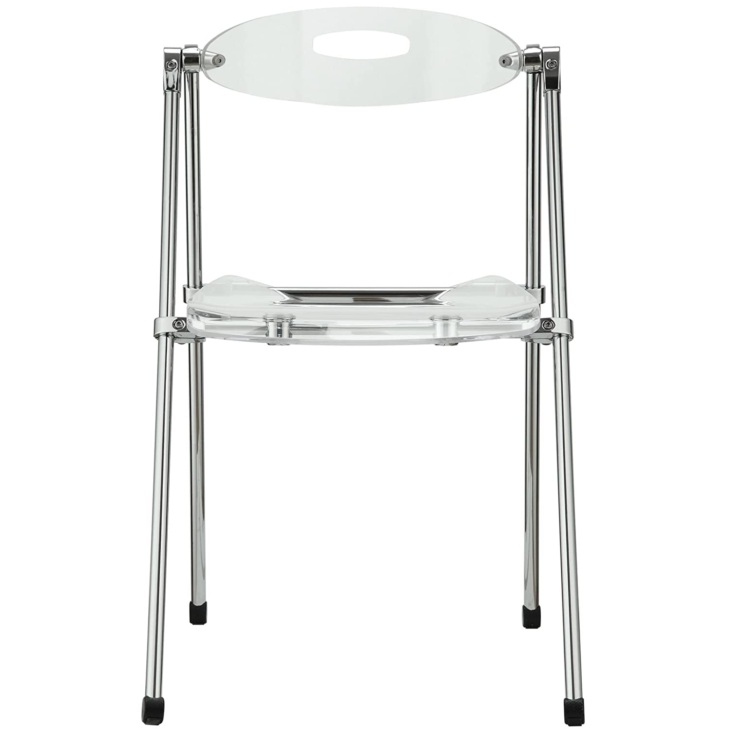 Amazon Modway Telescoping Chair in Clear Chairs