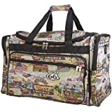 World Traveler Duffle Bag, Route 66 Print (22 inch)