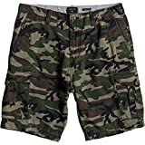 Quiksilver Men's Crucial Battle Short, Camo Print Crucial Battle, 36