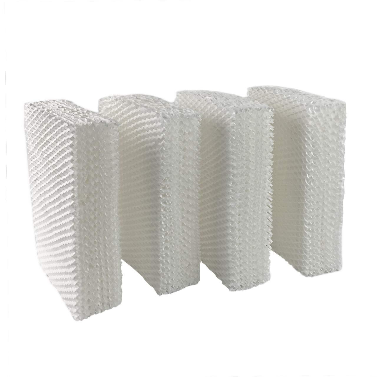 Eagleggo 4 Pack, HDC-12 & 14911 Humidifier Wick Filter, fits Kenmore & Emerson Models HD1100, 1102, 1200, 1202, 1204, 1212, 1300, 1409 & 14452, 14453, EA1407 by Eagleggo