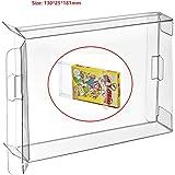 WiCareYo 10Pcs Clear Box Case Sleeve CIB Protector for Nintendo NES Games Cartridge Box