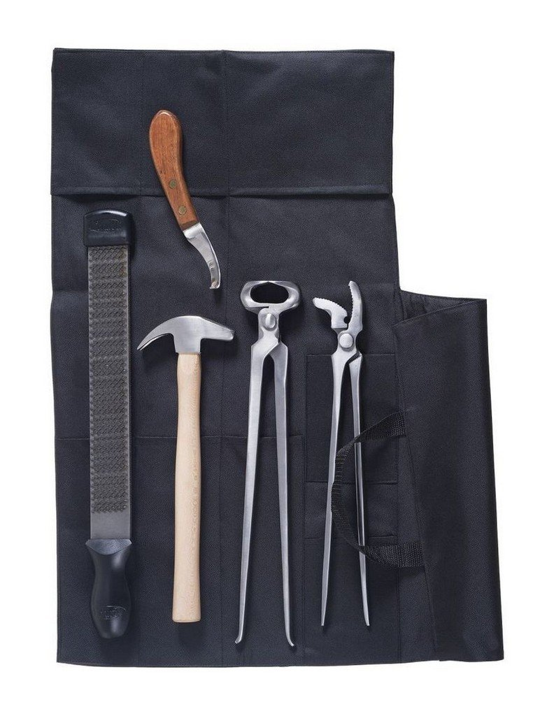 Tough 1 Professional 7 Piece Farrier Kit with Bag