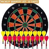 BETTERLINE Magnetic Dartboard Set with 20 Darts