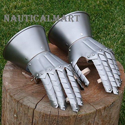 Medieval Knight Gauntlets Gothic Gauntlets Gloves By Nauticalmart by NAUTICALMART
