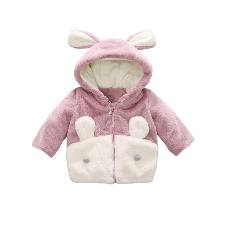 Little Girls Hood Outfit Winter Outwear Thick Jacket Coat Warm Snowsuit