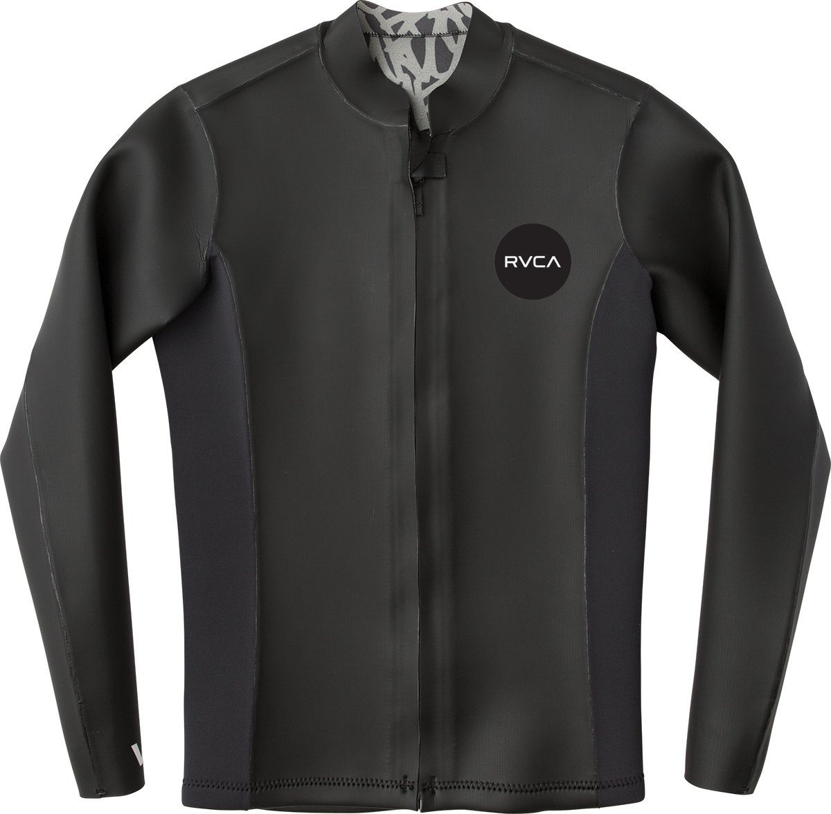 RVCA Men's Front Zip Smoothie Wetsuit Jacket, Black, L by RVCA