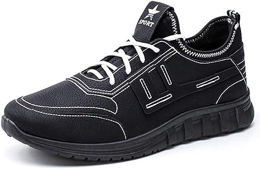 ZLYZS Calzado Casual para Hombre, Zapatillas Impermeables ...
