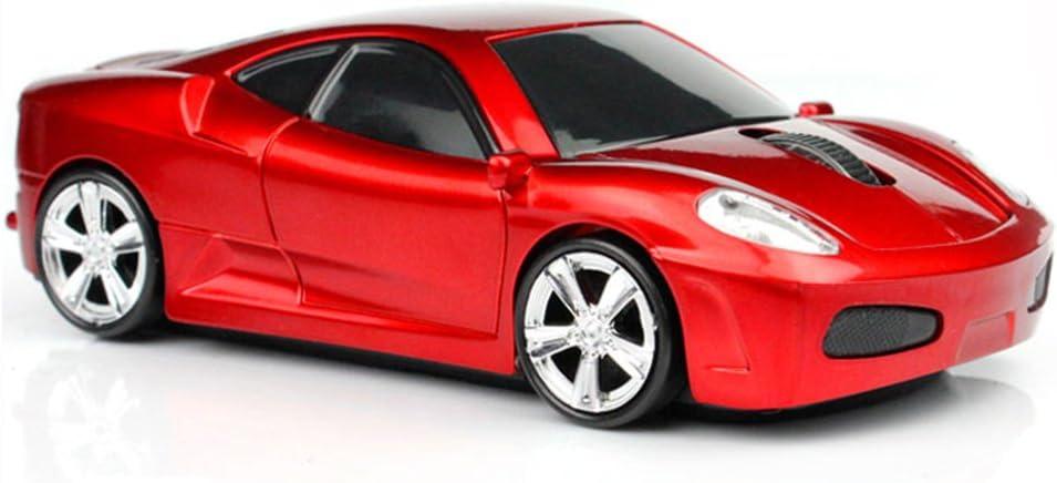 Deportes ratón del coche del ratón óptico 2.4Ghz ratón inalámbrico para el ordenador portátil PC
