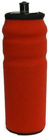 Funda de Neopreno en Color Rojo para Bidon de Ciclismo de 700cc ...