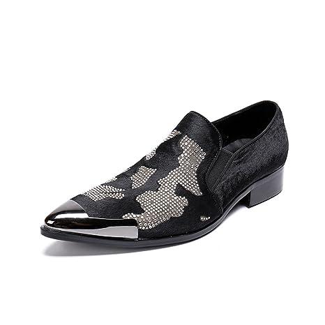 CAI Zapatos de Hombre Novedad/Acentuados/Mocasines 2018 Bullock/Zapatos Formales tallados/