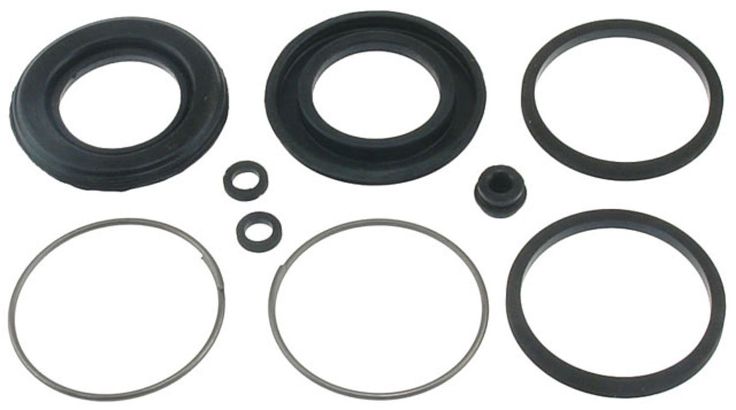 ACDelco 18H59 Professional Rear Disc Brake Caliper Boot and Seal Kit with Boots, Seals, Washers, and Cap
