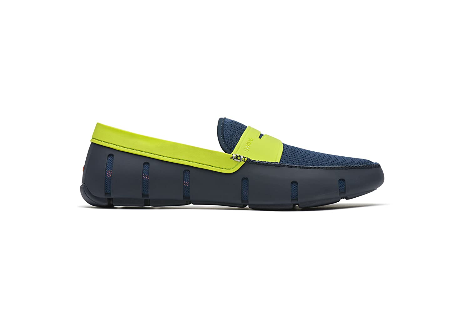23571c05710 SWIMS Penny Loafer Navy Green Mens Water Shoe Size 9M  Amazon.co.uk  Shoes    Bags