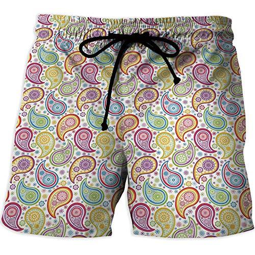 Men's Draw-String Sports Athletic Shorts,Polka Dots,Quick-Drying Swim Trunks Bo for $<!--$25.99-->