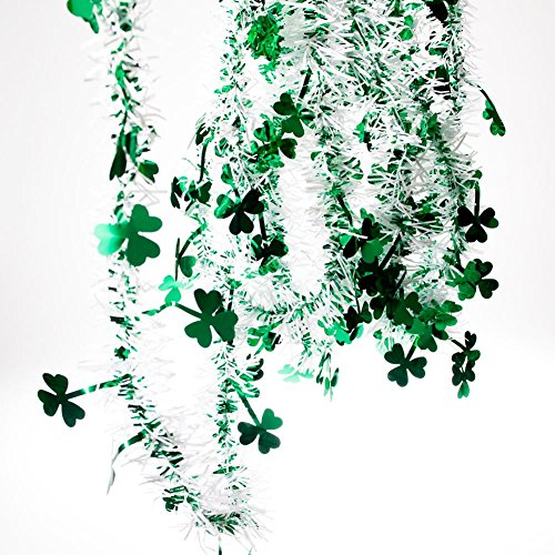 FR Metallic Shamrock Garland Party Accessory (1 count) (1/Pkg) -