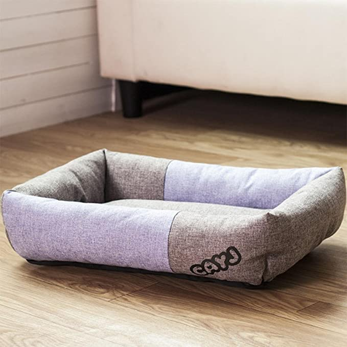 Amazon.com: Dixinla Pet bed Cloth Square Pet Nest small dog dog cushion cat Nest: Home & Kitchen