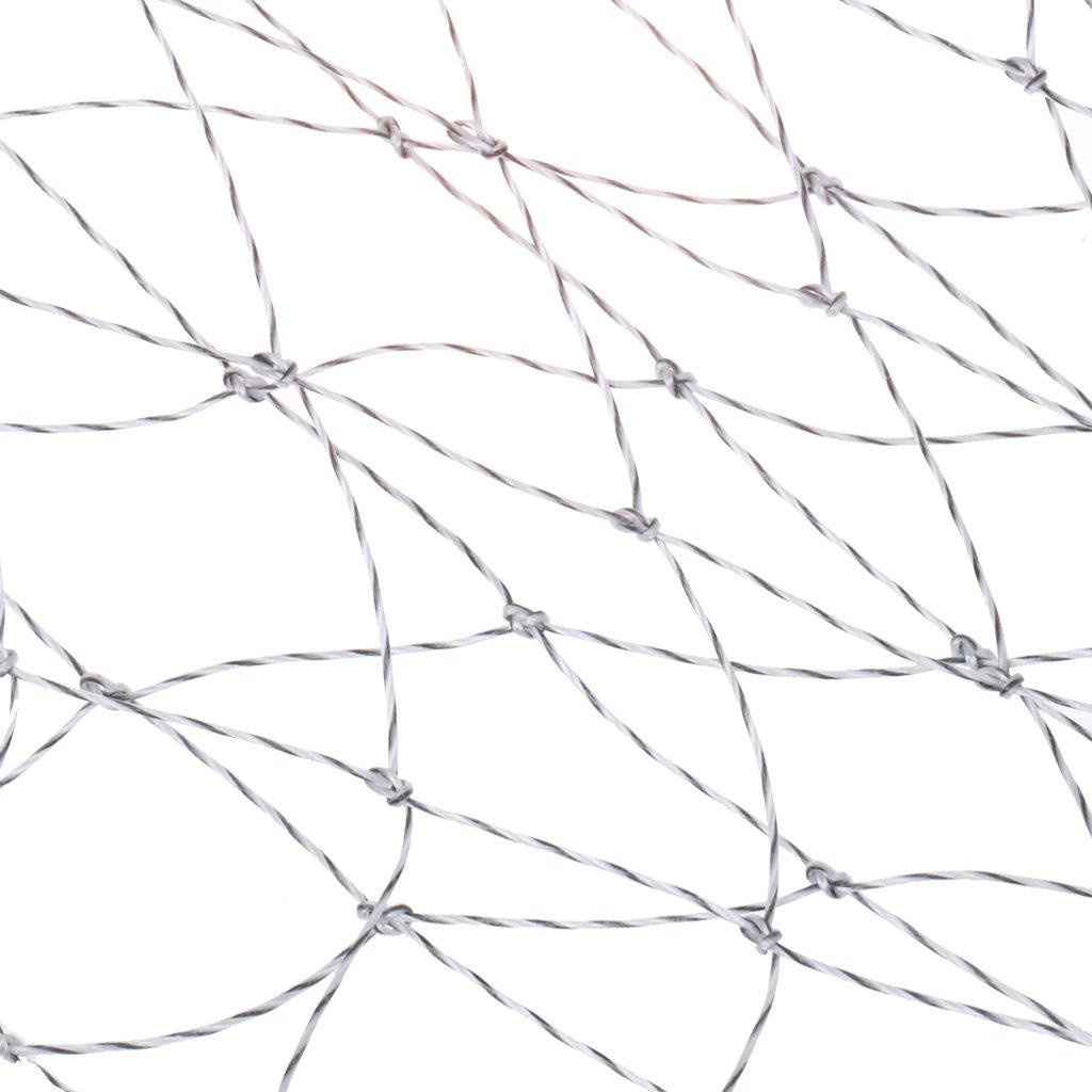 Generic Filet de P/êche Tricot Fait /à La Main Tuck Fil R/éseau sans Fil Net /Épuisette