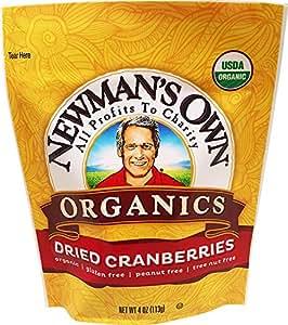 Newman's Own Organic Cranberries, 4 Oz