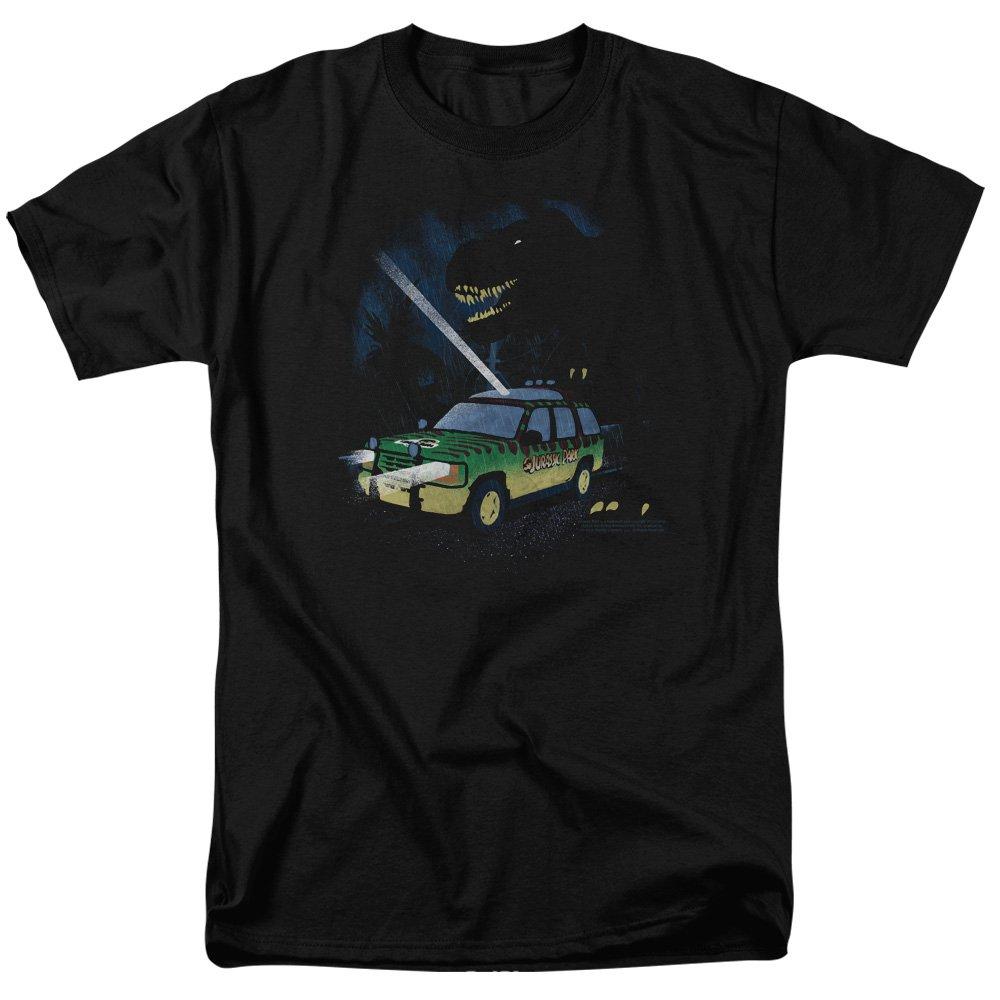 Trevco Mens Jurassic Park Turn It Off Adult T-Shirt