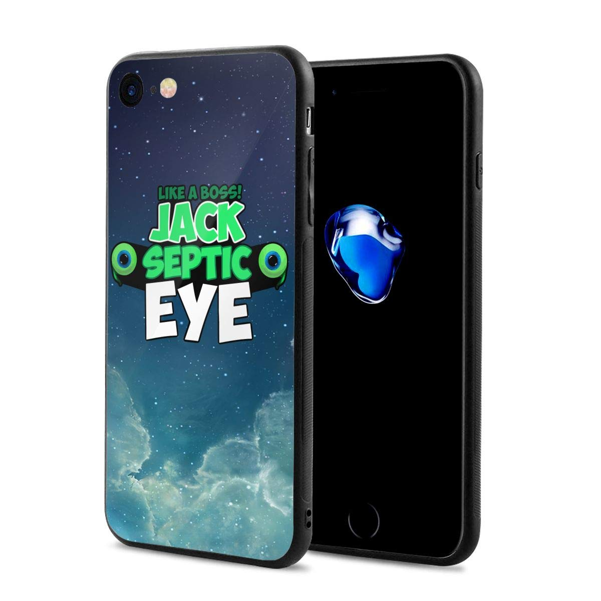 Amazon com: High Five YouTube Jack Logo Case for iPhone 8