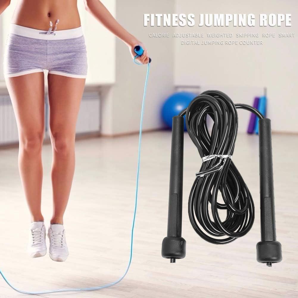 N// A Saltar la Cuerda PVC Cuerda de Salto Ajustable Equipo de Ejercicio de Entrenamiento de Fitness