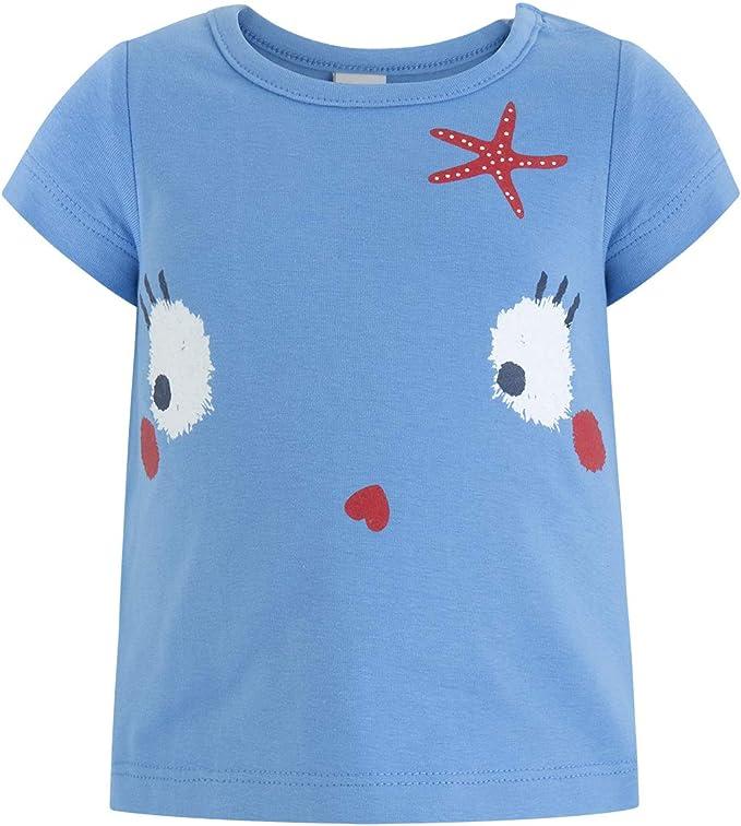 Tuc Tuc Camiseta Punto Azul Niña Arrecife de Coral Niñas: Amazon ...
