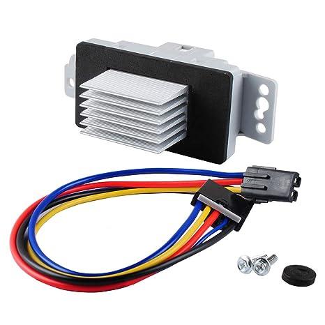 Phenomenal Amazon Com Podoy Hvac Fan Blower Motor Resistor Kit With Harness Wiring Digital Resources Llinedefiancerspsorg