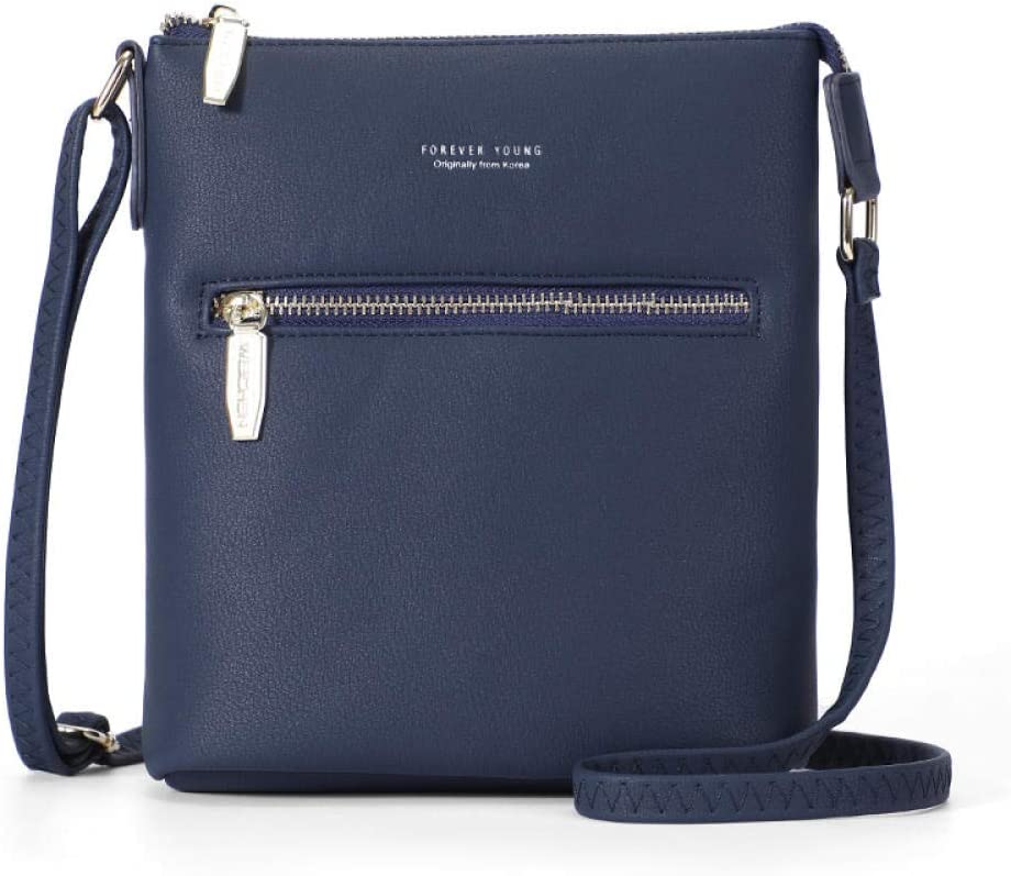 Ladies Small Messenger Soft Artificial Leather Mini Bucket Bag Women Shoulder Crossbody Bag Slim Women