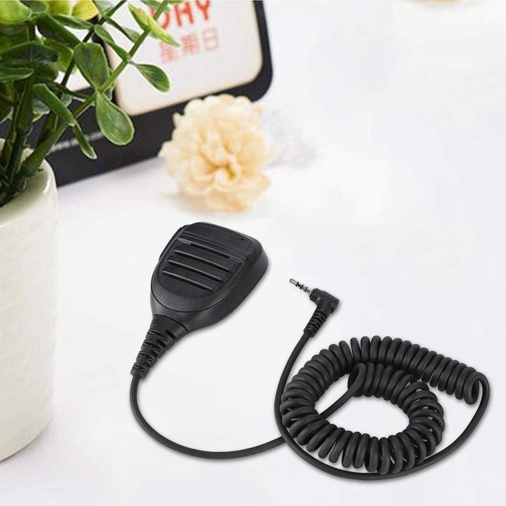 Vbestlife Micr/ófono de mano 3,5 mm PTT de mano Walkie Talkie Radio altavoz micr/ófono para YAESU FT1D FT1XDR FT2DR FT2XDR FT-50 FT-60 FT-10R FT-40R