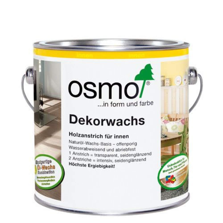 Osmo Wood Wax Finish 3164 Oak 0.125 Litres UNKWN