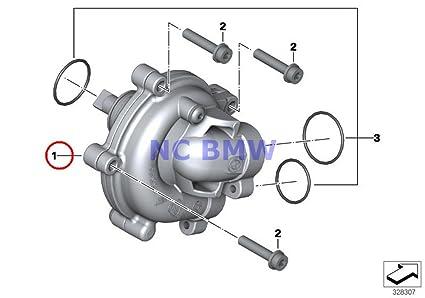 Amazon com: BMW Genuine Motorcycle Water Pump Water Pump A40