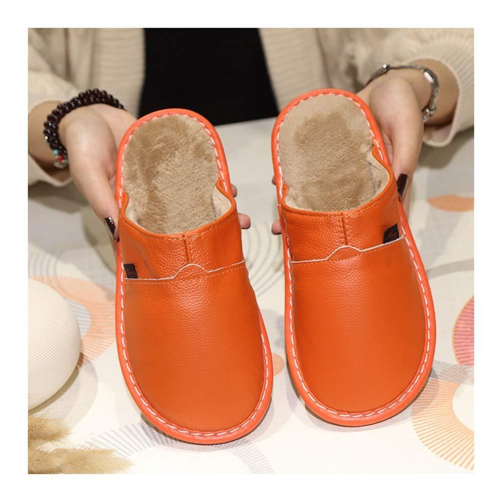 GAOHUI Slippers Hommes Femmes Anti-Patinage Thermique Accueil Chaussons en Coton Hiver Int/érieur Fashion Chaussures Occasionnels Amoureux