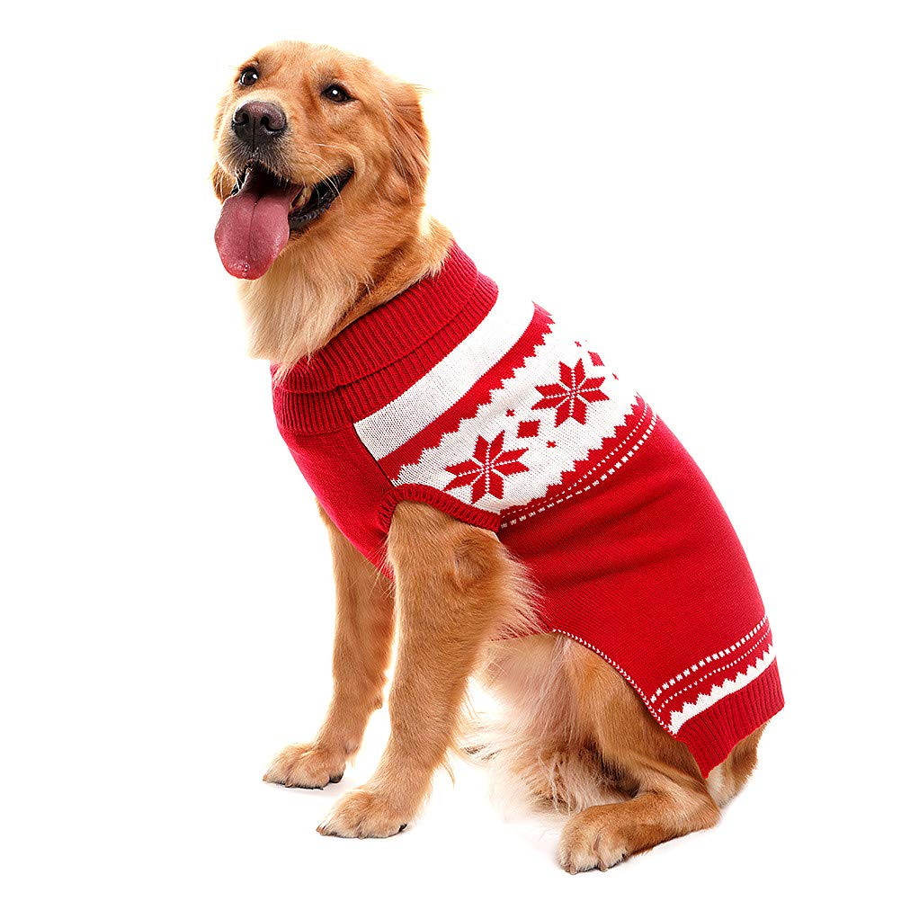 Mihachi Dog Sweater for Cold Weather