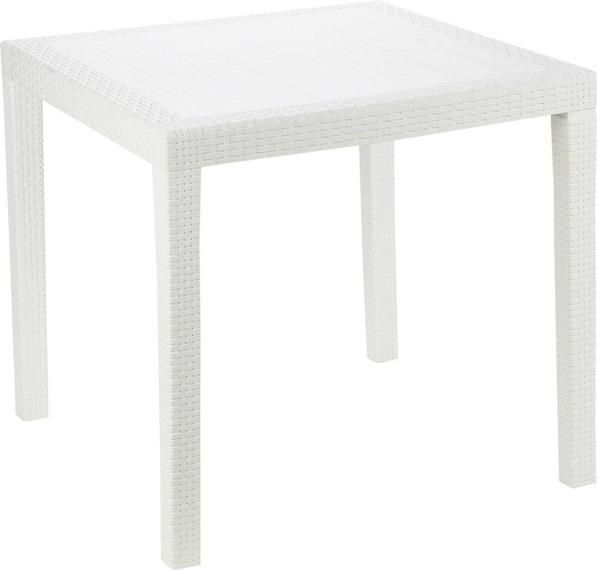 Ipae-Progarden 8009271052000 King Table bistrot Blanc
