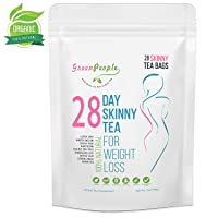 Detox Tea Diet Tea for Body Cleanse - 28 Day Weight Loss Tea for Women, Natural Ingredients, GPGP GreenPeople Skinny fit Tea for Slim, Belly Fat (28days)