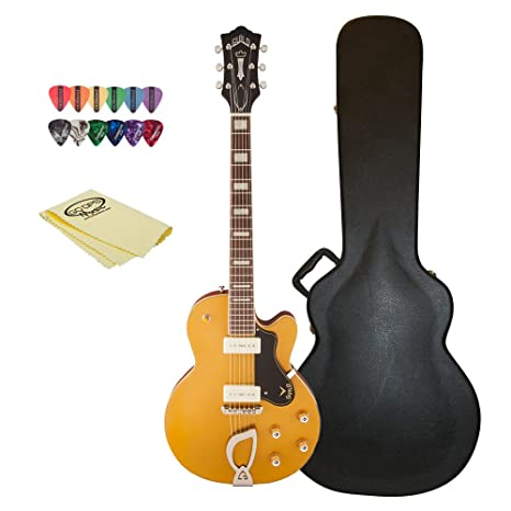 Hermandad M-75 Juego gld-kit-1 oro single Cutaway Guitarra ...