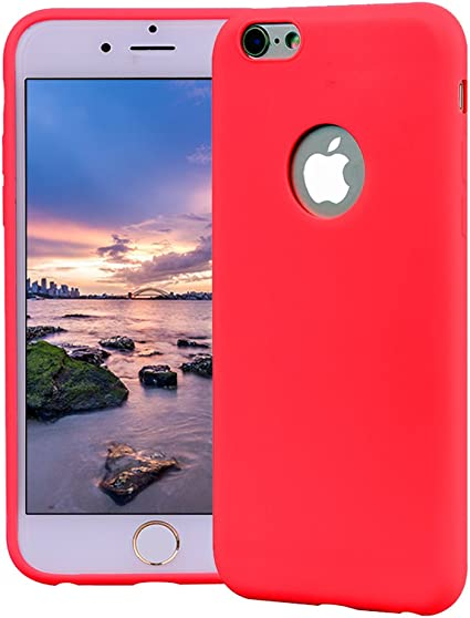 Funda iPhone 6, Carcasa iPhone 6S Silicona Gel, OUJD Mate Case ...