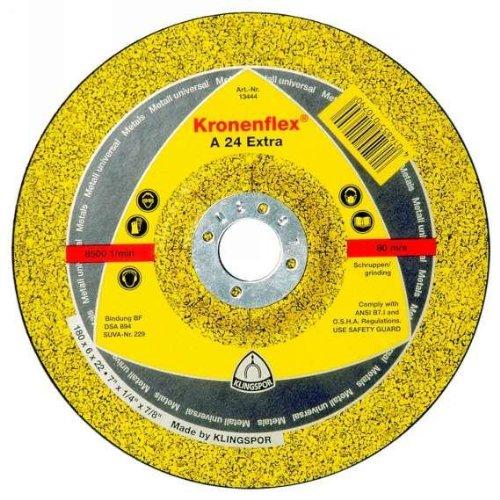 Schruppscheibe A 24 Extra, Durchmesser mm: 230, VPE: 10 KLINGSPOR