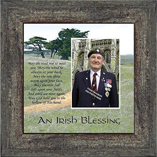 Irish Catholic Blessing - Personally Yours An Irish Blessing, Irish Blessing Picture Frame, May the Road Rise to Meet You, 10x10 6786BW