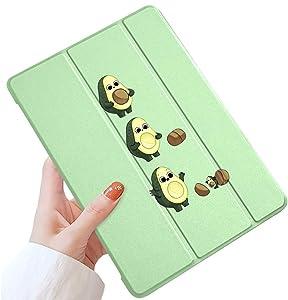 LuGeKe Avocado Case for iPad 7.9 inch 2019 iPad Mini 5,Avocado Patterned iPad Case Cover,Lightweight Slim Standing iPad Cover for Girls Boys,Avocado