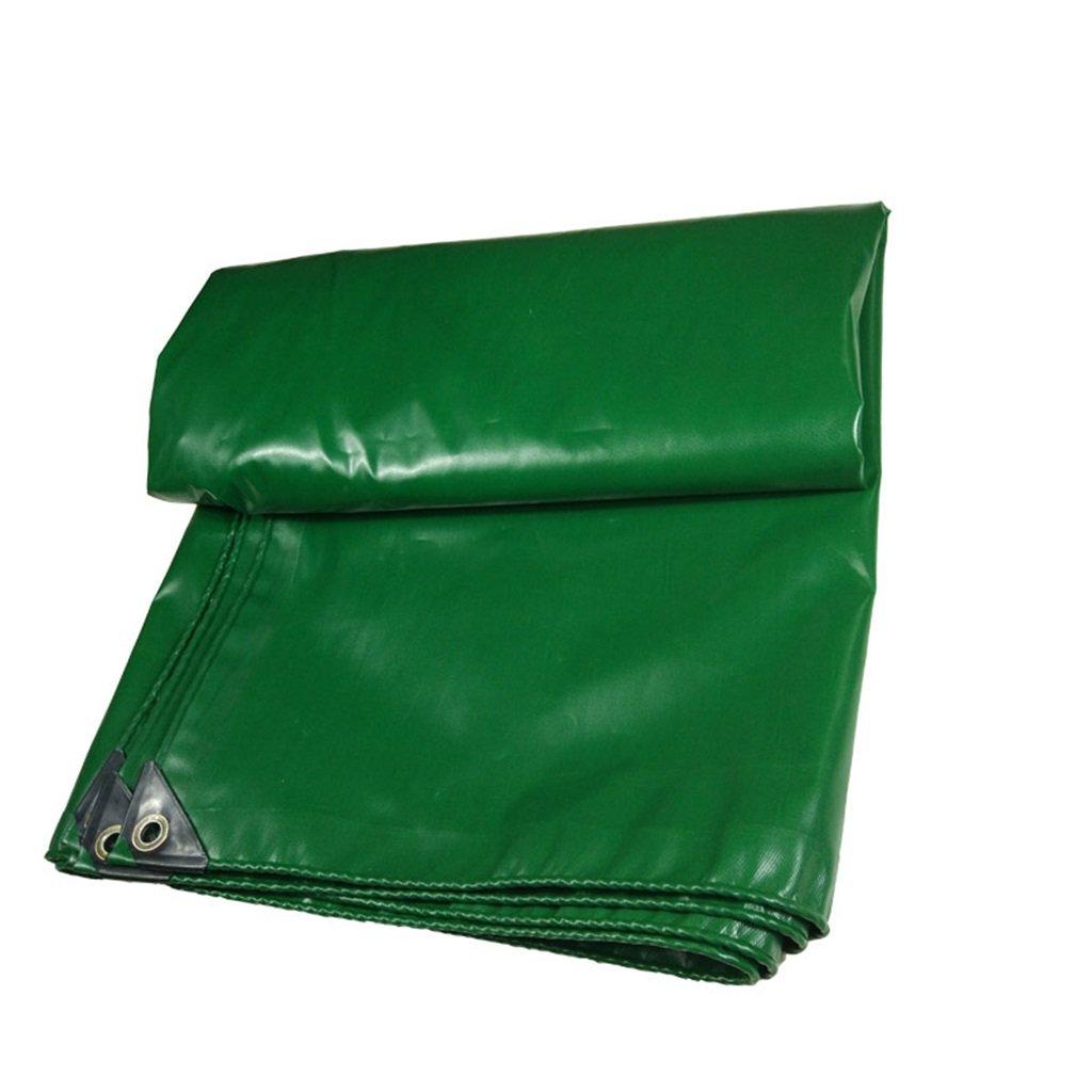 CAOYU Schutzblech Wasserdichtes Schutzblech CAOYU der Regenschutztuchregenschutztuch-LKW-Markise, grün a16806